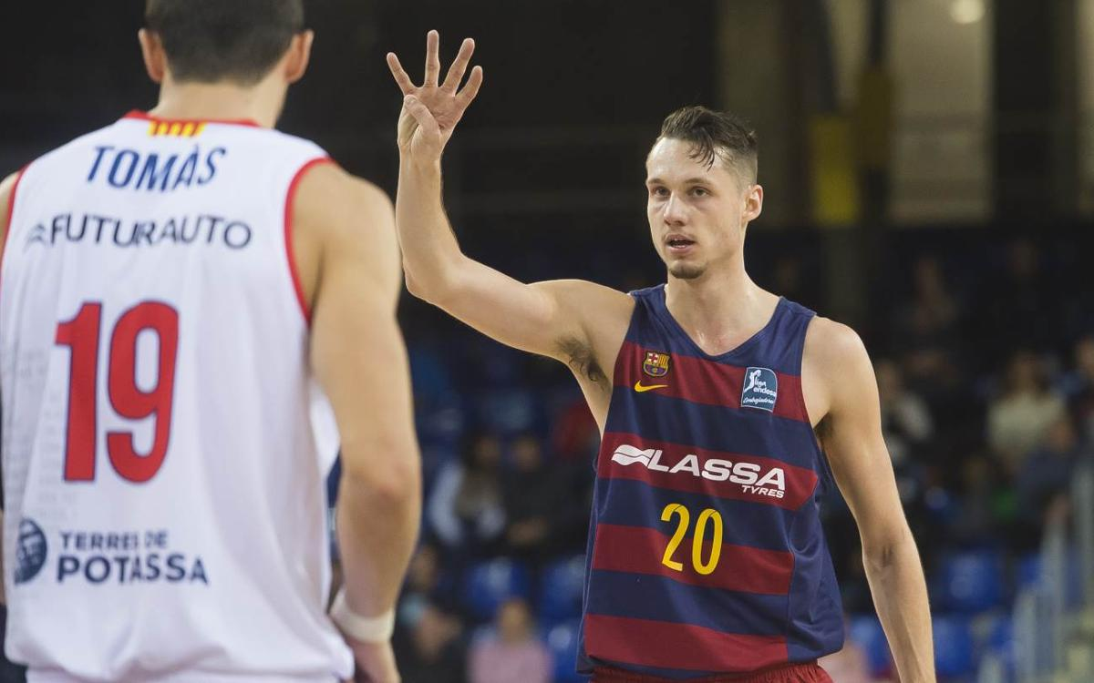 FC Barcelona Lassa v ICL Manresa: Resounding victory in the Catalan derby (92-72)