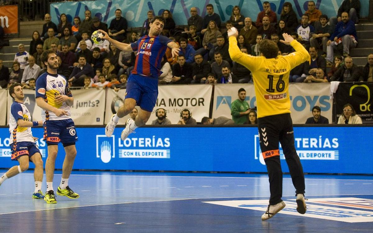 BM Granollers v FC Barcelona Lassa: Back to work with a win (20-31)