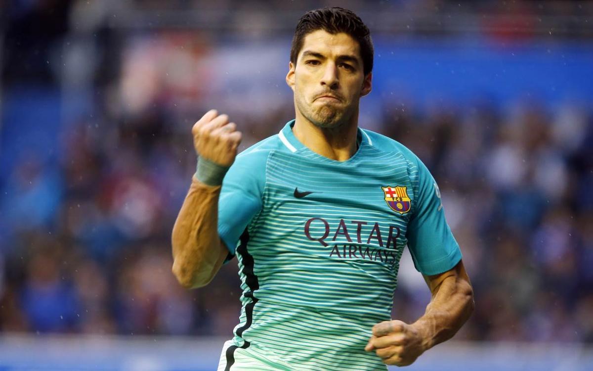 Luis Suárez iguala a Luis Enrique como goleador del FC Barcelona