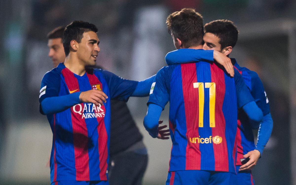 UE Cornellà – FC Barcelona B: Fuertes también fuera de casa (0-2)
