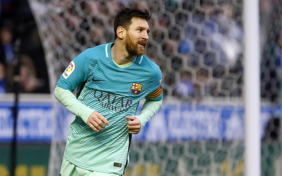 Leo Messi dépasse la barre des 20 buts en Liga depuis 9 saisons