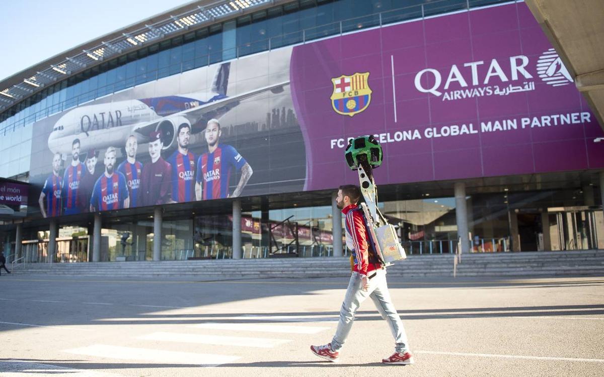 Google StreetView acerca al mundo las instalaciones del Barça