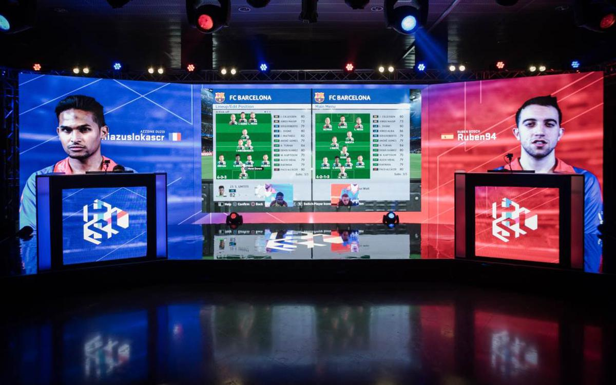 El Camp Nou ha acogido la primera final regional de la PES League