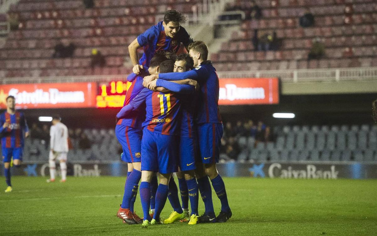 FC Barcelona B – Mallorca B: Remontada de líder en el Miniestadi (2-1)