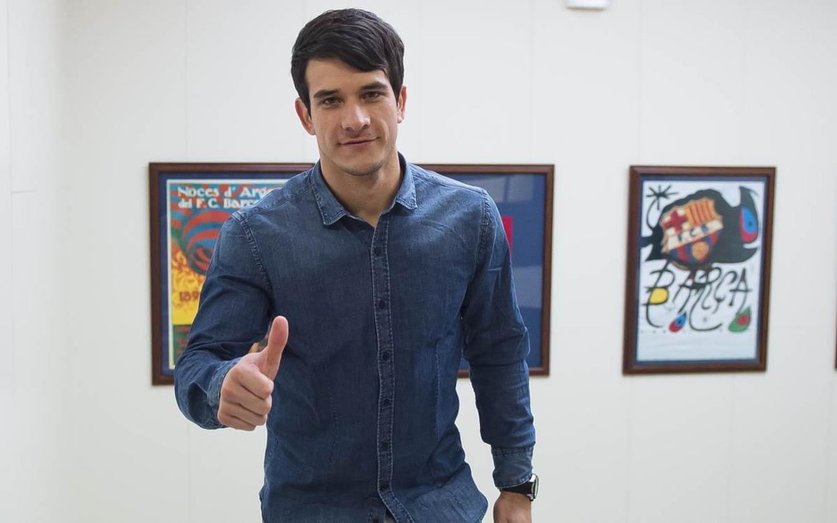 """Pablo Álvarez: """"Estic molt content per ampliar aquest somni quatre anys més"""""""