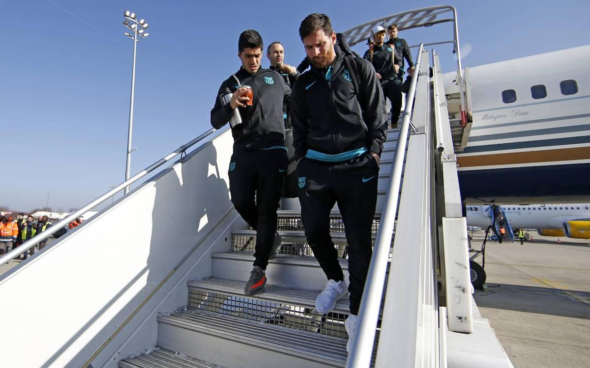 Messi, Neymar Jr and Suárez are back in Paris
