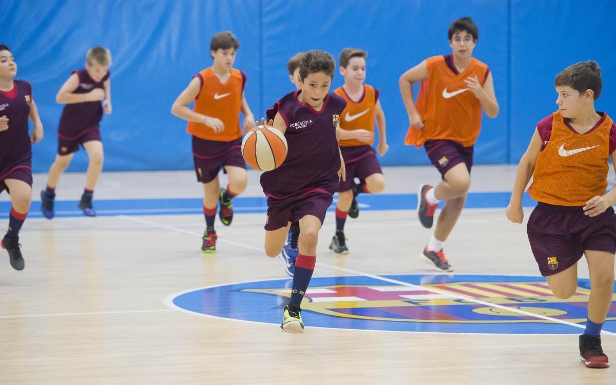Abiertas las inscripciones para las pruebas de la FCBEscola Basket Barcelona