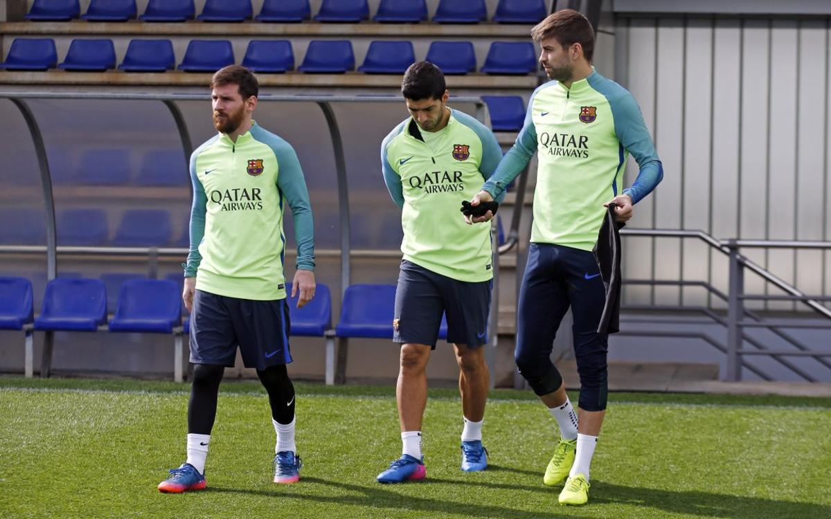 Recovery session as attention turns to Leganés