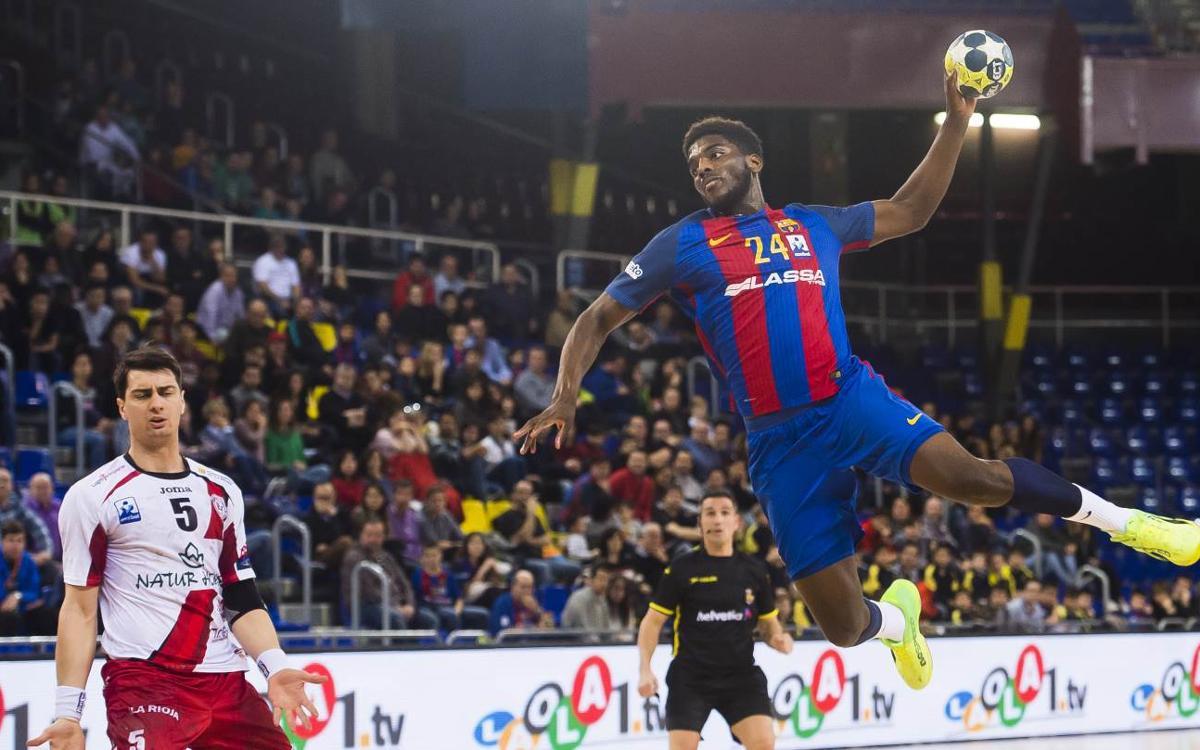 Barça Lassa – La Rioja: Victòria per continuar amb l'hegemonia blaugrana (28-24)