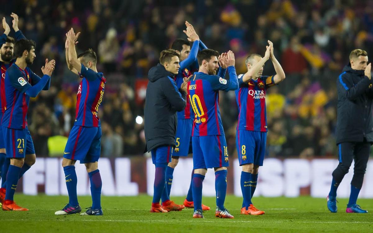 Septième finale de Coupe du Roi en neuf ans pour le FC Barcelone