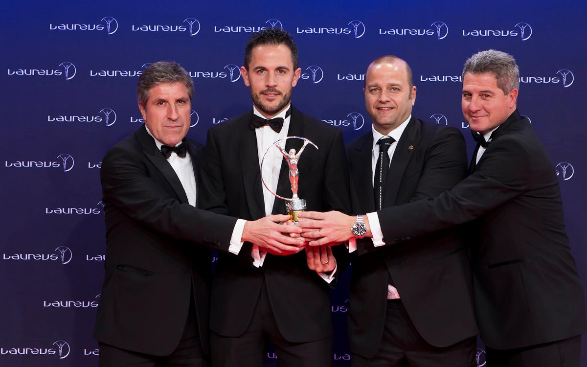 Third Laureus Award in FC Barcelona history