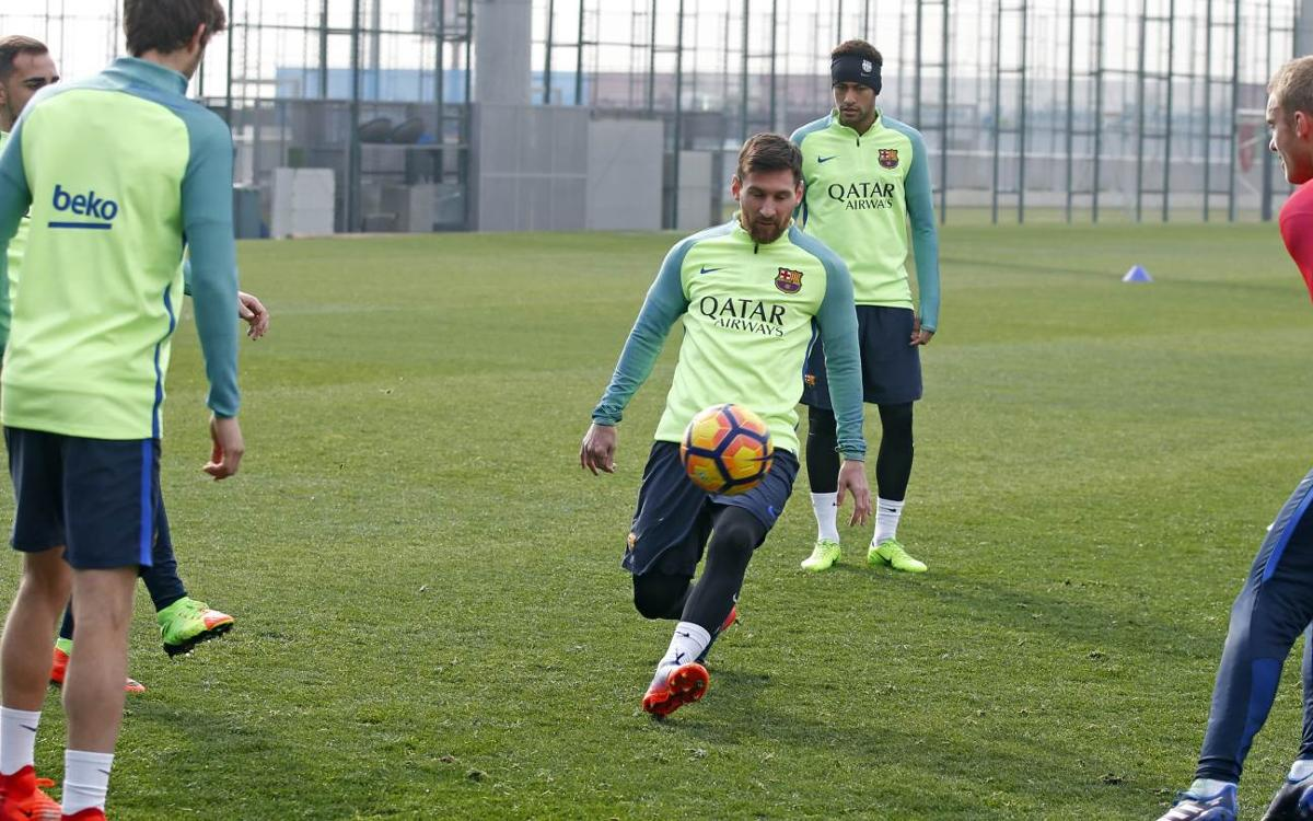TRAINING: Three reasons for good cheer at Thursday session