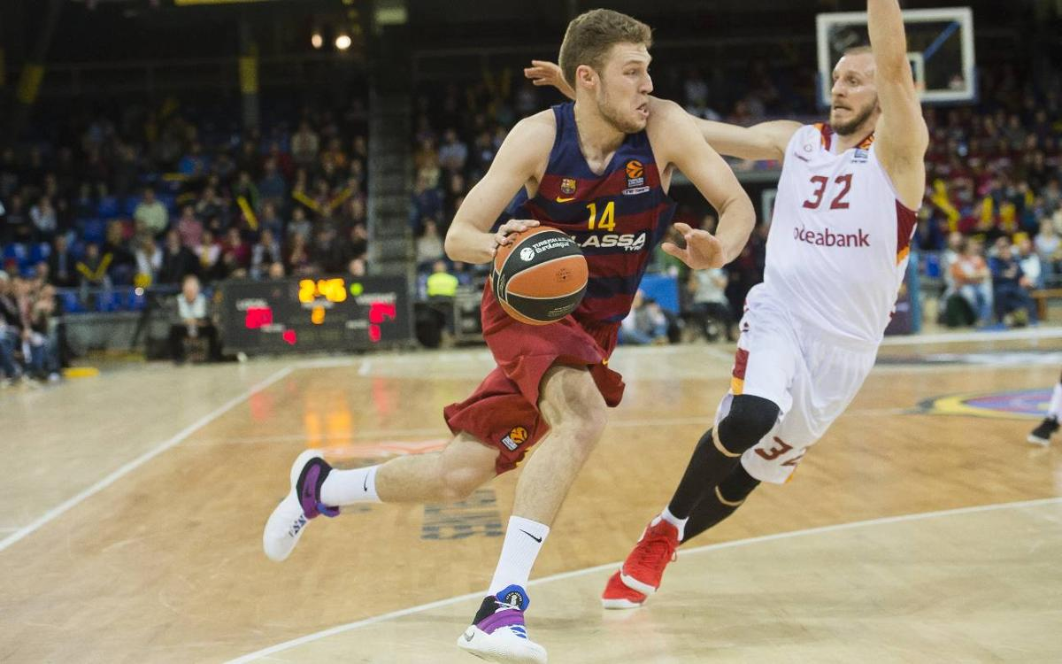 FC Barcelona Lassa v Galatasaray: Victory escapes in the final quarter (62-67)