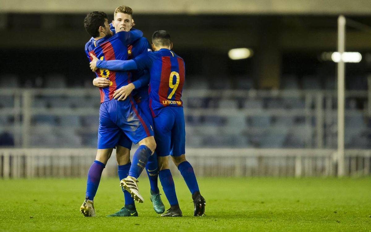 Barça B – Alcoyano: Gumbau salva un punto clave para el líder (1-1)