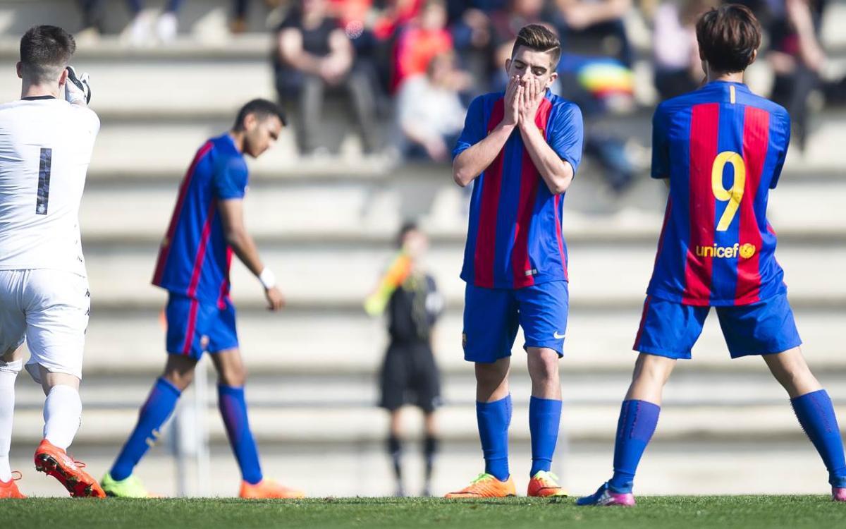 FC Barcelona U19A v Girona FC: Late goal sinks youngsters (0-1)
