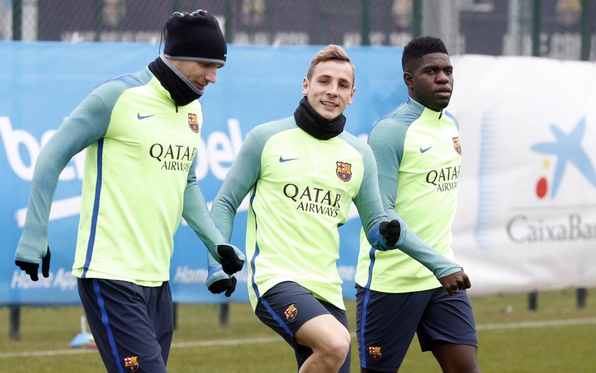 Le groupe du FC Barcelone convoqué pour Eibar