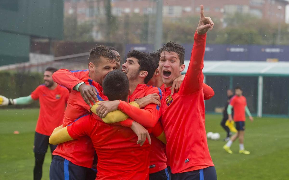 Barça B - CF Gavá: Hay que ganar para seguir líderes