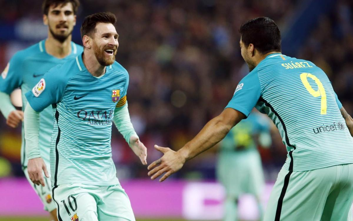 アトレティコM−FCバルセロナ戦マッチレポート (1-2)
