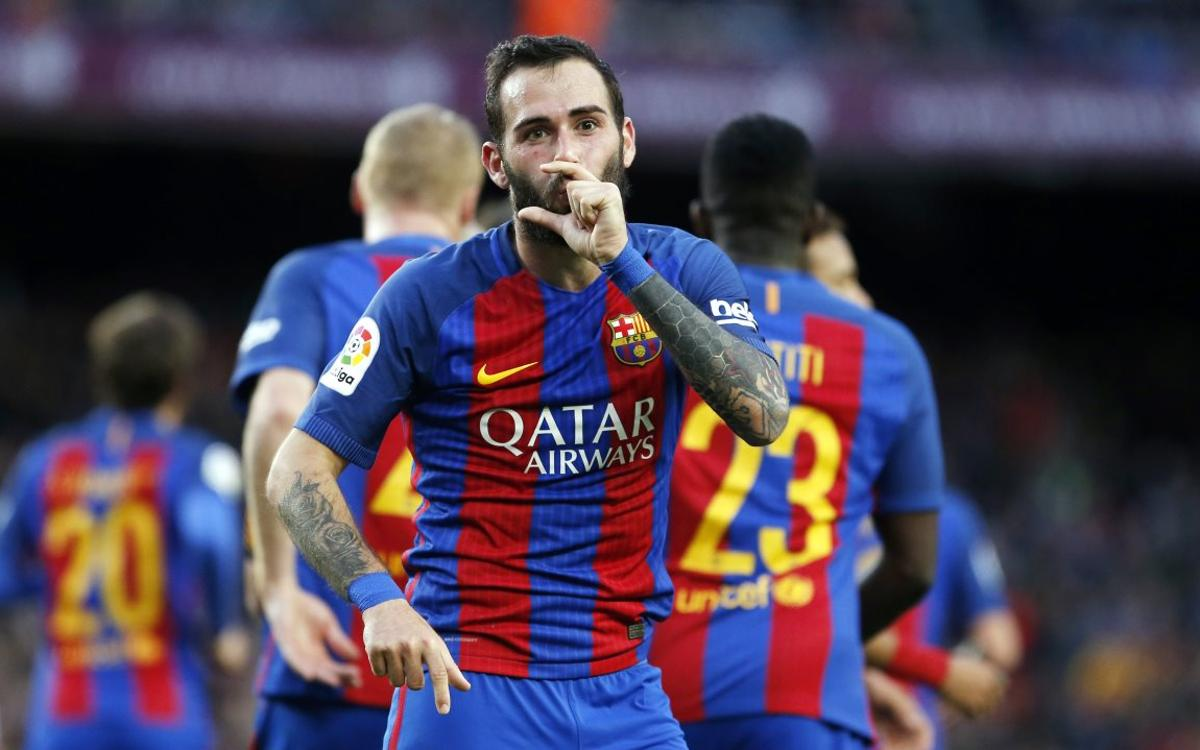 REACTIONS: Aleix Vidal 'happy to help' out