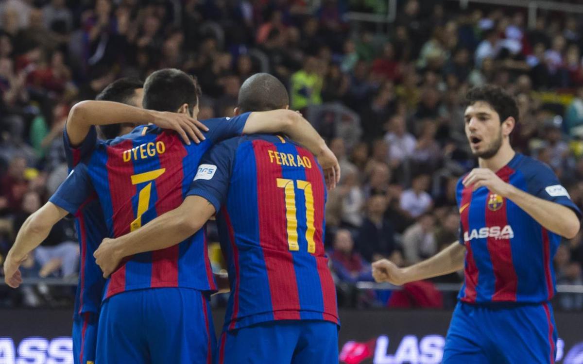 Match Report: FC Barcelona Lassa v Bodegas Juan Gil Jumilla: Enough to keep the run going (6-1)
