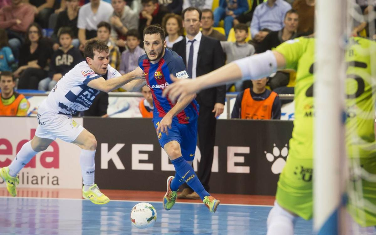 FC Barcelona Lassa v Ríos Renovables Zaragoza: The blaugranas have to settle for a draw (3-3)