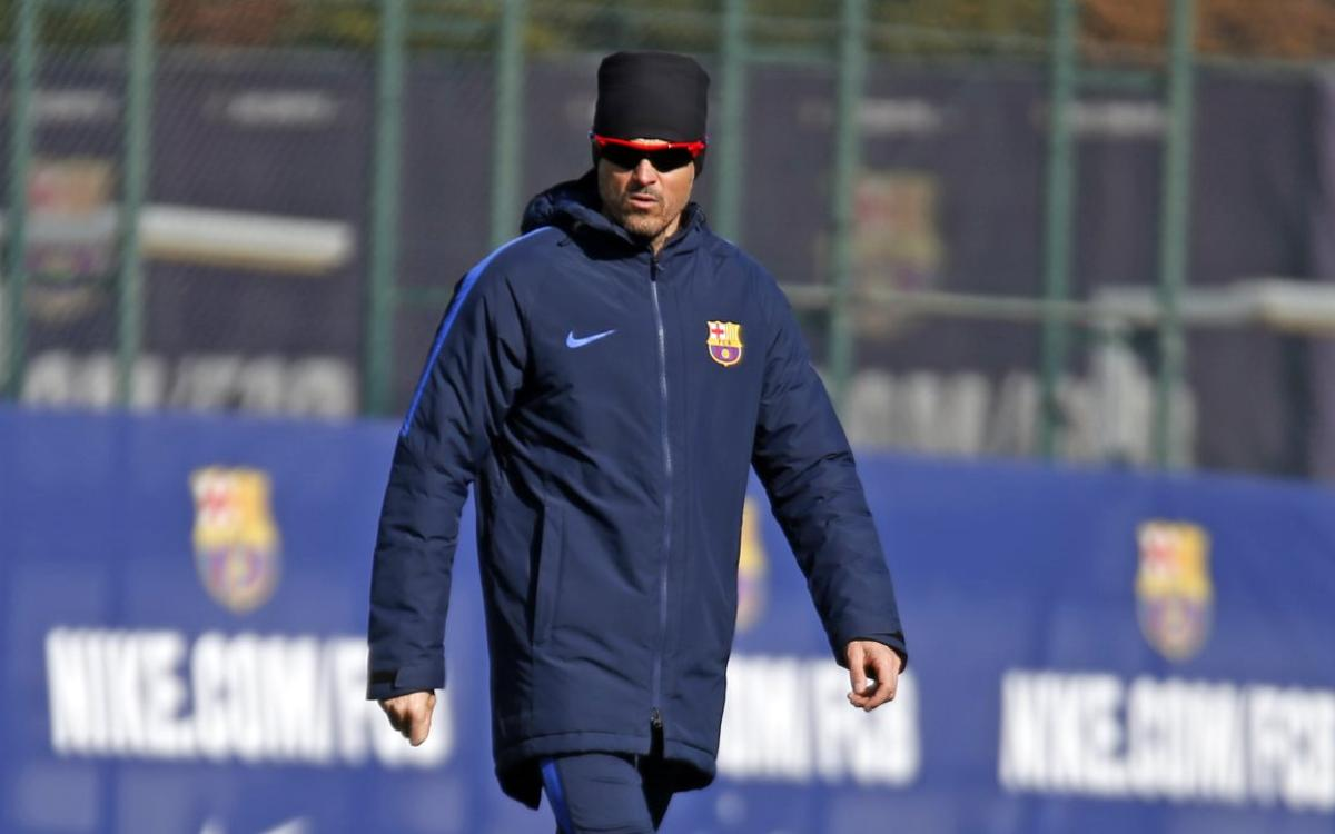 Luis Enrique: My players are experts in big games