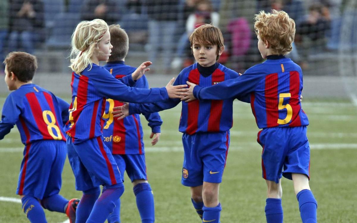 El Top 5 de goles de los chicos de la Masía
