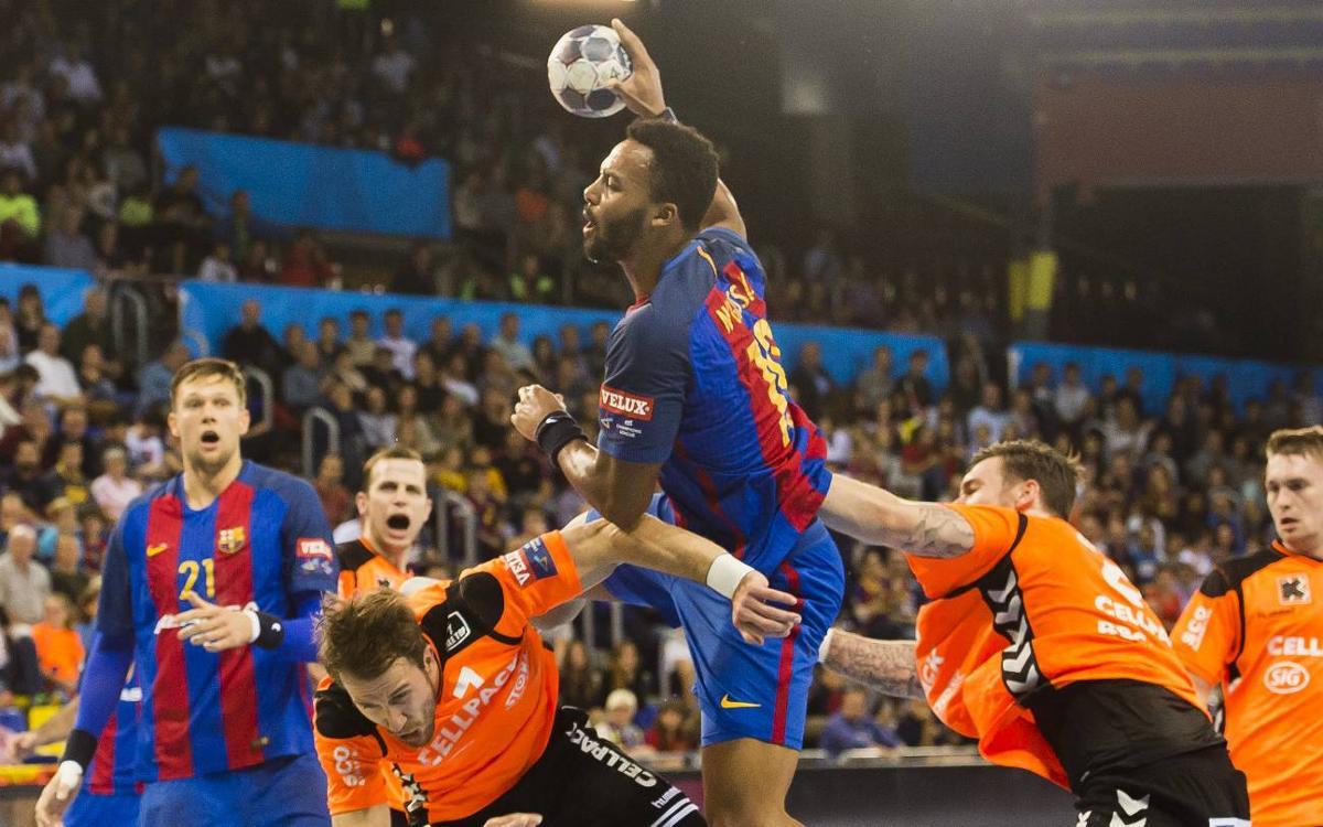 Kadetten Schaffhausen – FC Barcelona Lassa: El líder no es deixa sorprendre (24-31)