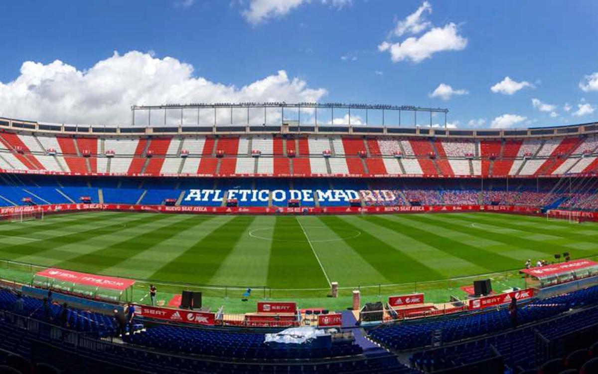Vicente Calderón is the venue for the Copa del Rey final between FC Barcelona and Alavés