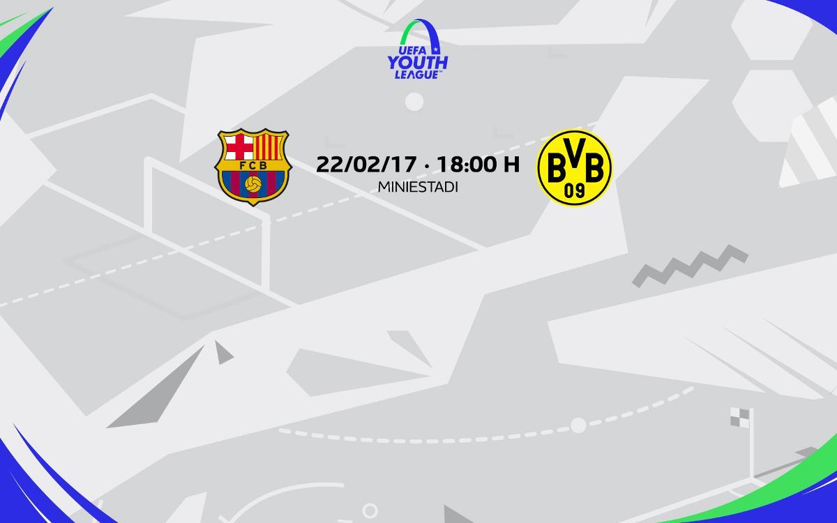 El Borussia Dortmund, rival als vuitens de la Youth League