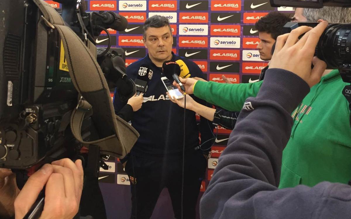 """Xavi Pascual: """"Són dos punts vitals per a nosaltres"""""""