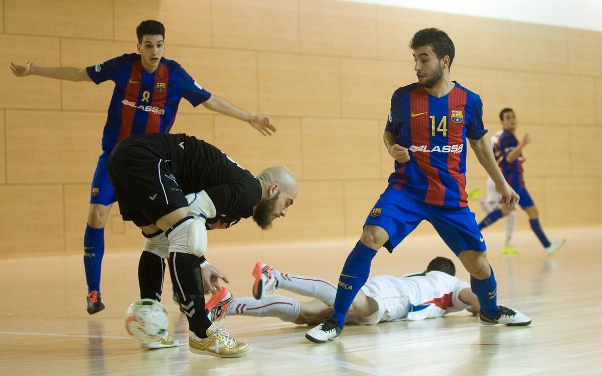 El Barça B merece más contra Valdepeñas (1-2)