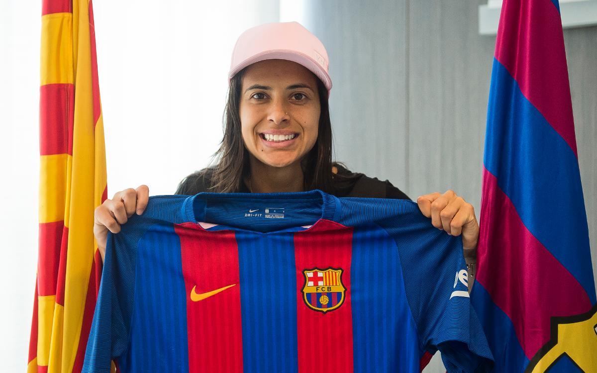 Andressa Alves ya está aquí: