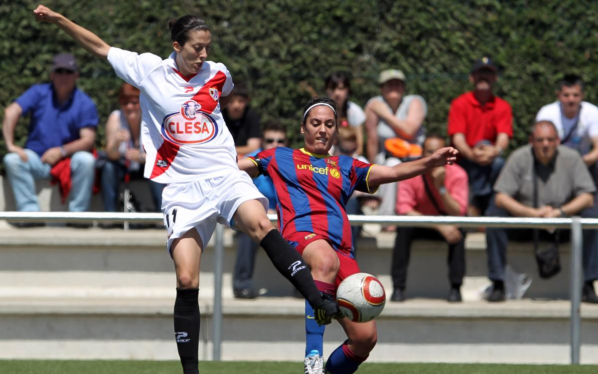 Barça Femenino - Rayo: Sabías que...