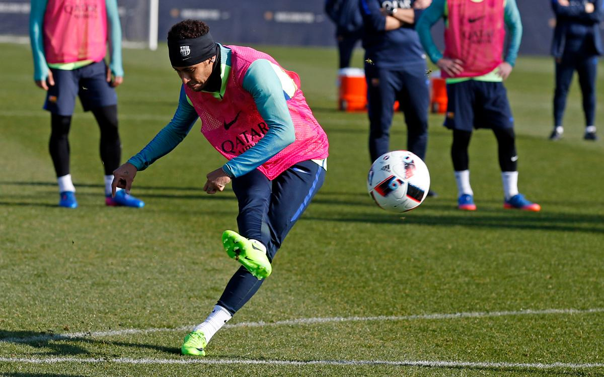 FC Barcelona's Neymar Jr's magical moments in training