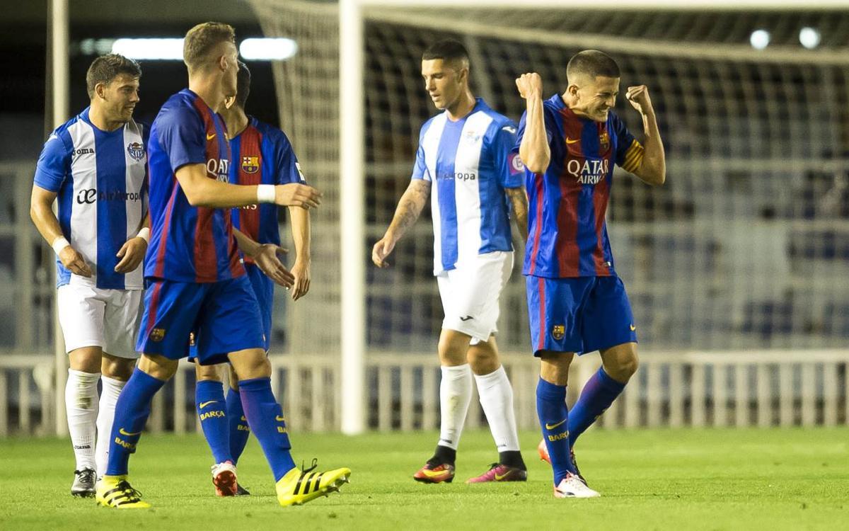 Doble duel Atlètic Balears – FC Barcelona