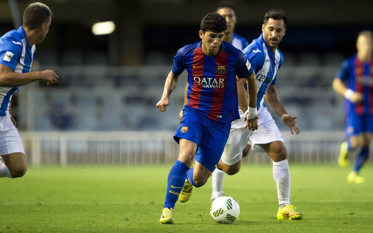 MATCH REPORT: At. Baleares v Barça B: Defeat at a difficult away ground (2-1)