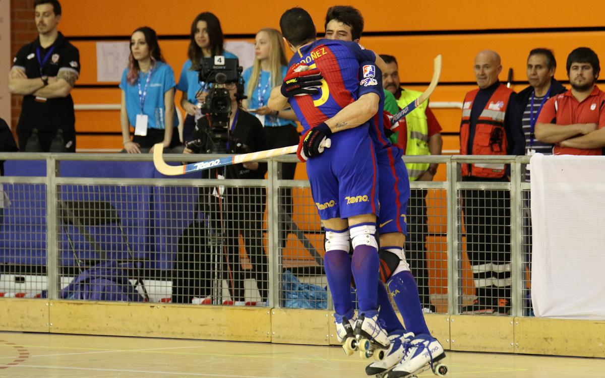 FC Barcelona – HC Liceo: A la final con épica (2-2)
