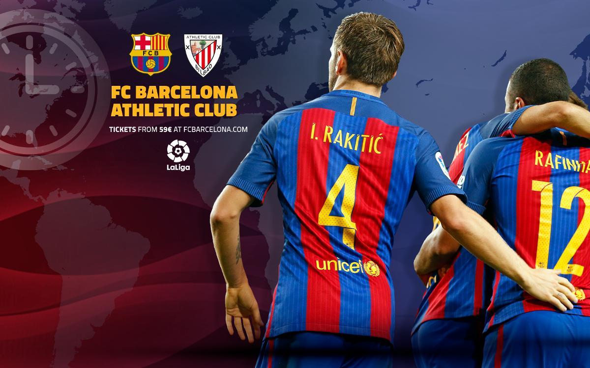 Cuándo y dónde se puede ver el FC Barcelona - Athletic Club