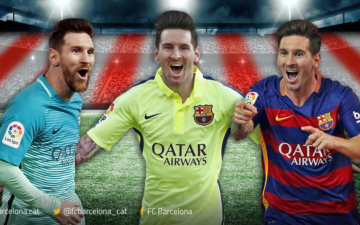 Talismà Messi al Calderón