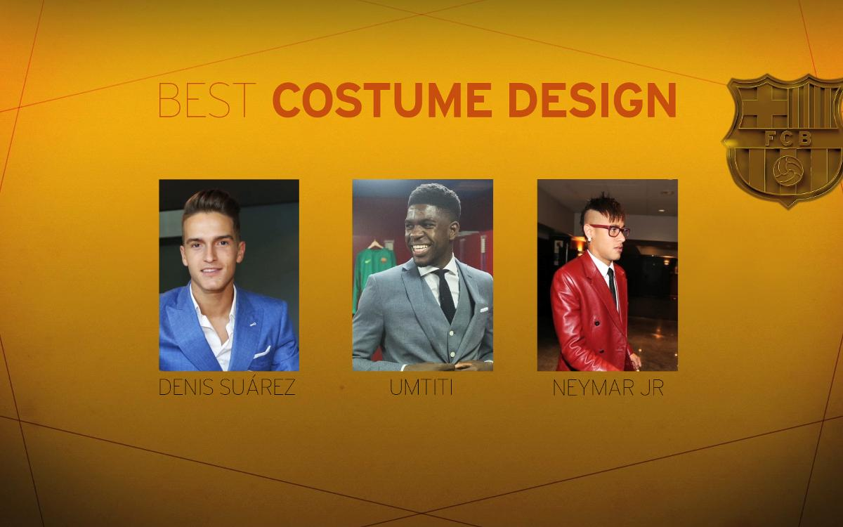 Barça Oscars, second category: Best Costume Design