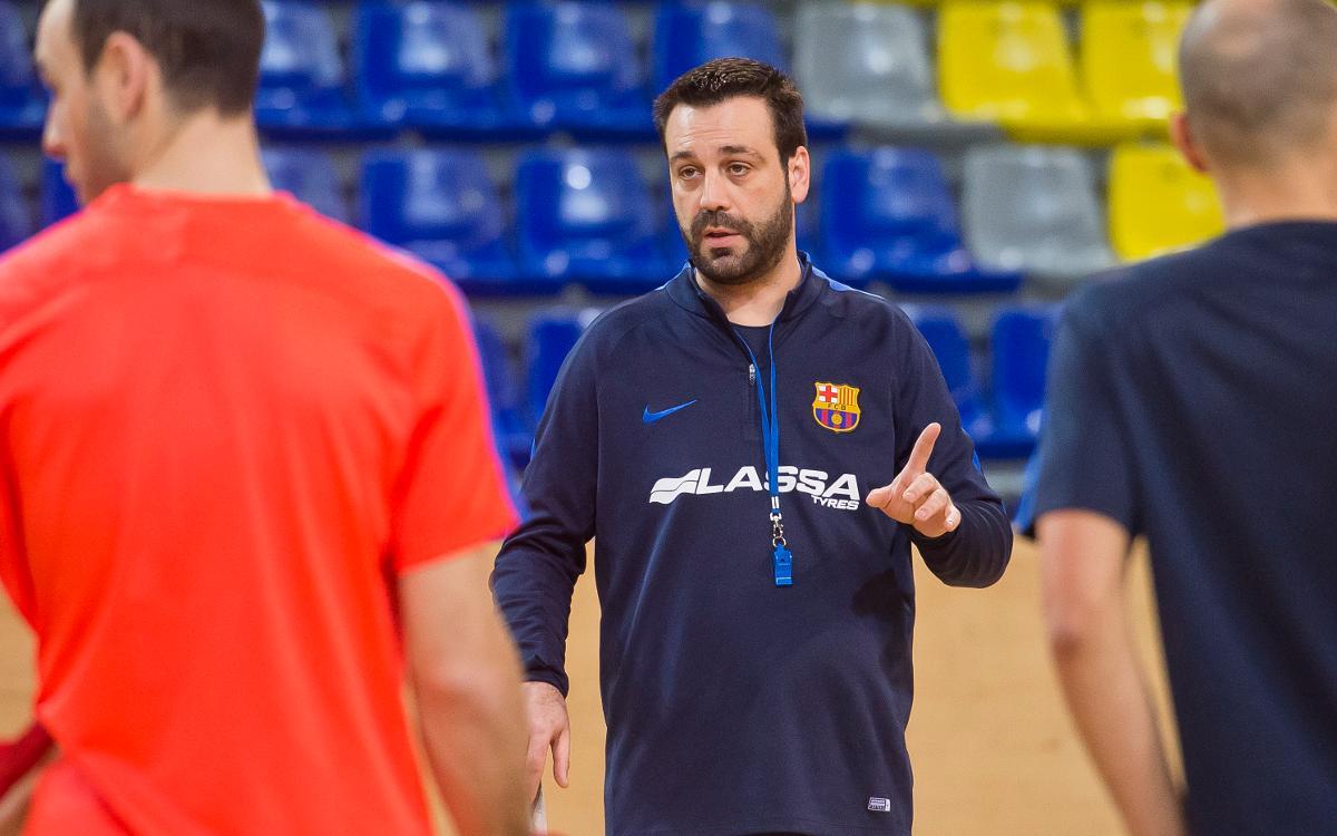 """Ricard Muñoz: """"Agafar el primer partit com a referència és el primer error que podem fer"""""""