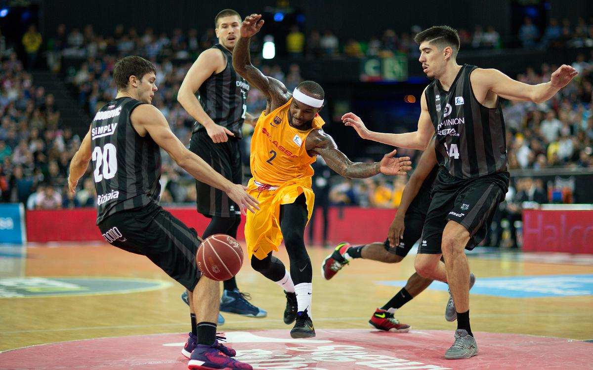 Bilbao Basket - FC Barcelona Lassa: Primera derrota del equipo de Bartzokas en la Liga (92-79)