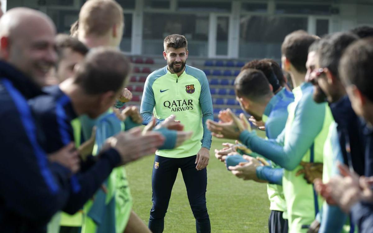 Récupération avec le sourire pour le FC Barcelone