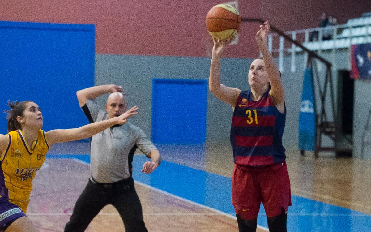 BF Viladecans - Barça CBS: Triomf patit en el primer partit de la segona fase (66-76)