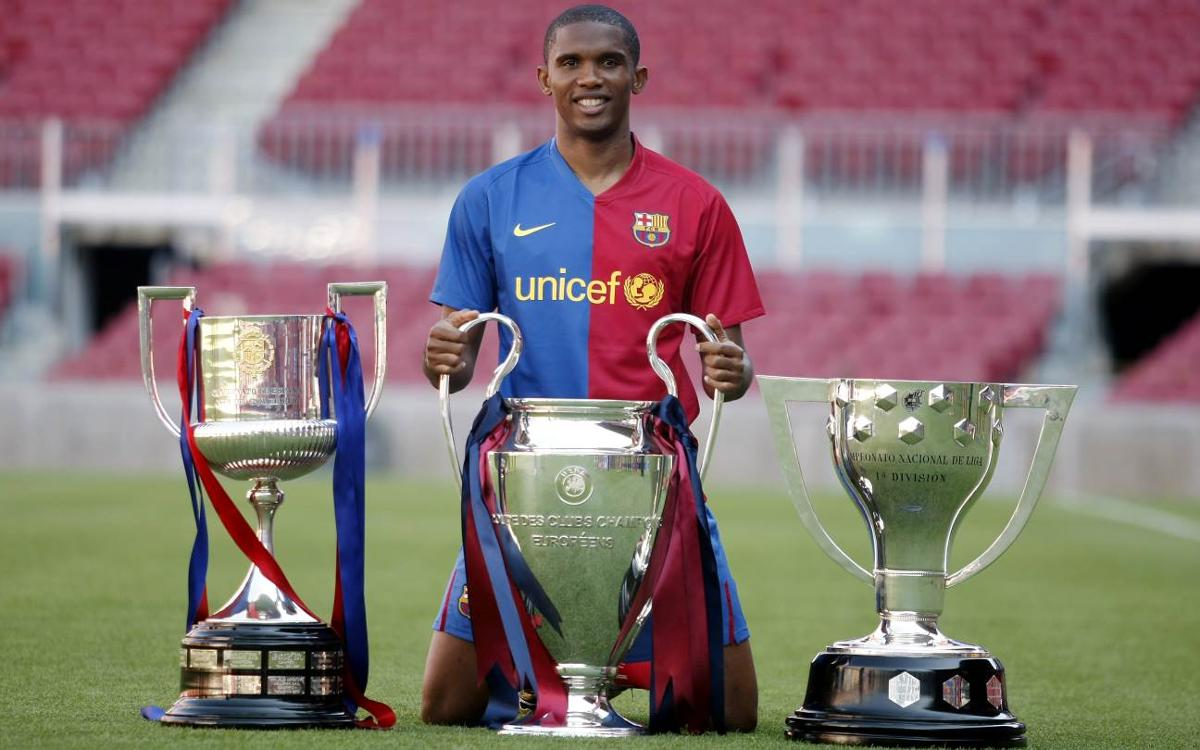 Samuel Eto'o: from Leganés to FC Barcelona