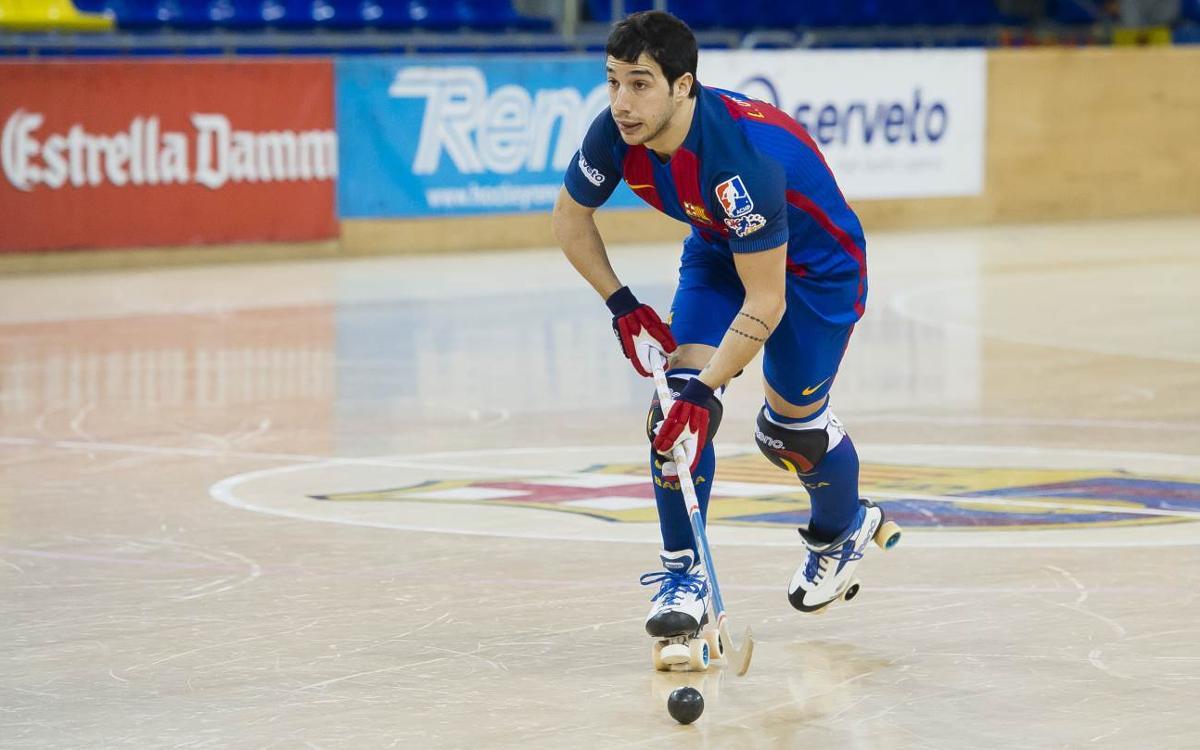 Lucas Ordoñez, con molestias en la pierna derecha