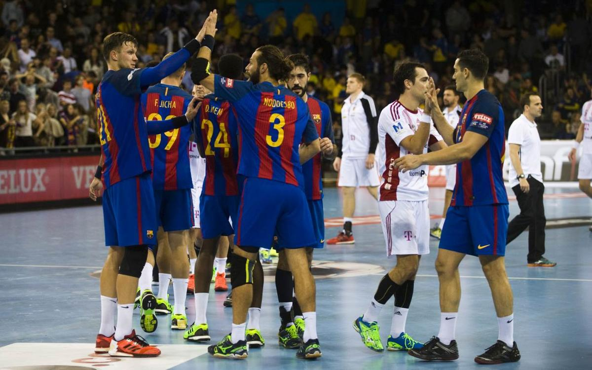Telekom Veszprém 22-25 FC Barcelona: Still top in Europe