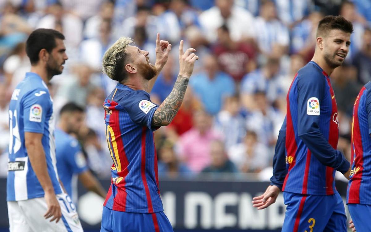 [LIGA] El resumen del Leganés - FC Barcelona