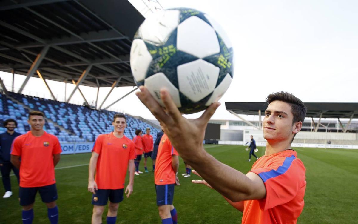 Le challenge technique des U19 du FC Barcelone, en vidéo